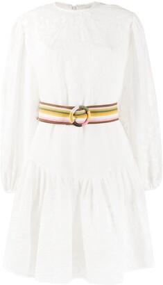 Zimmermann Zinnia applique mini dress