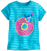 Disney Stitch Striped Tee for Girls