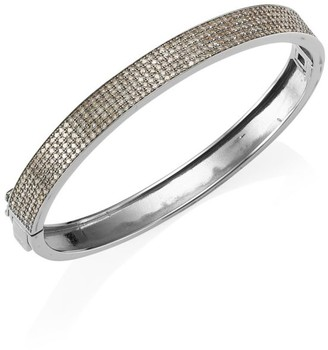 Nina Gilin Diamond Pave Bangle