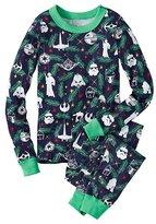 Kids Star WarsTM Long John Pajamas In Organic Cotton for Kids