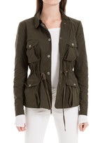 Max Studio Drawstring Field Jacket