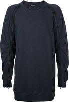 Ann Demeulemeester zipped sleeve sweatshirt - men - Cotton - M