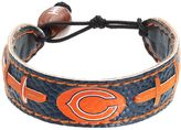 GameWear Chicago Bears Leather Football Bracelet