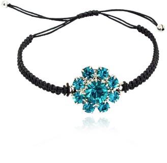 Rosaspina Firenze Florentine Garden Black Macrame Bracelet