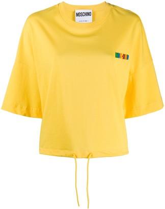 Moschino logo appliqué T-shirt