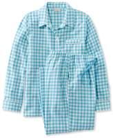 L.L. Bean Beans Flannel Pajama Set, Gingham