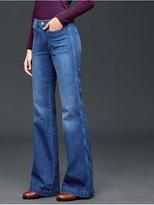 Gap AUTHENTIC 1969 patch pocket flare jeans