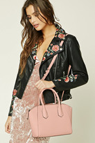 Forever 21 FOREVER 21+ Faux Leather Satchel
