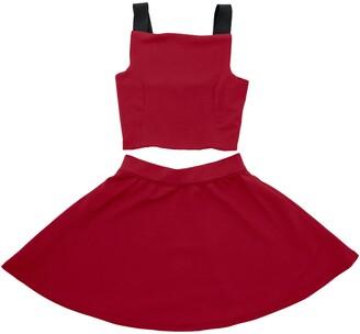 Stella M'Lia Textured Knit Two-Piece Dress