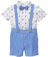 Gymboree Rabbit Bow Tie Set