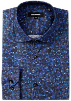 Jared Lang Monet Trim Fit Dress Shirt