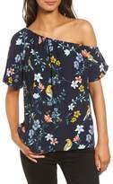 Cooper & Ella Women's Linnea One-Shoulder Top