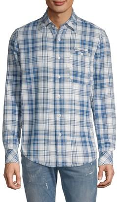G Star Raw Plaid Long-Sleeve Shirt