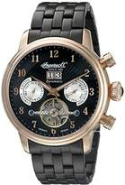 Ingersoll Automatic Men's Automatic Watch with Black Dial Chronograph Display and Black Stainless Steel Bracelet IN1510RBKM