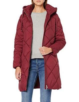 Esprit Women's 099Ee1G040 Coat, (Bordeaux RED 600), S