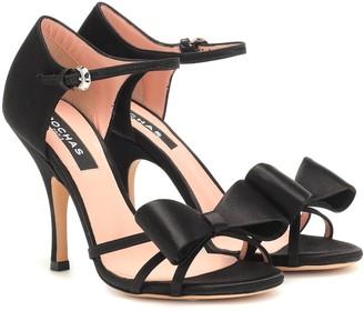 Rochas Satin sandals