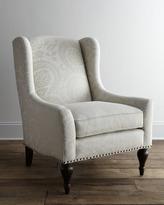 """Bernhardt Dunning"""" Wingback Chair"""