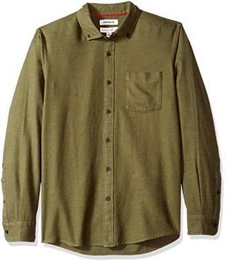 Goodthreads Standard-fit Long-Sleeve Plaid Brushed Shirt,(EU M)