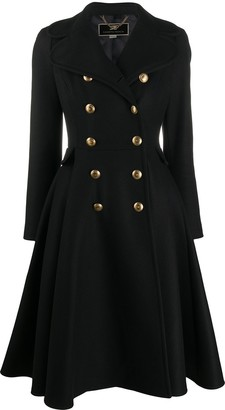 Elisabetta Franchi Double Button Coat
