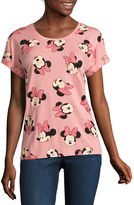 Mighty Fine Minnie Mouse Graphic T-Shirt- Juniors