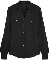 Balmain Silk Shirt - Black
