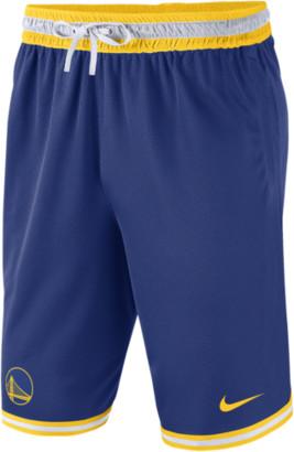 Nike NBA DNA Mesh Shorts - Golden State Warriors - Rush Blue / Amarillo