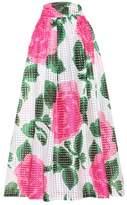 Tory Burch Daniella printed maxi skirt