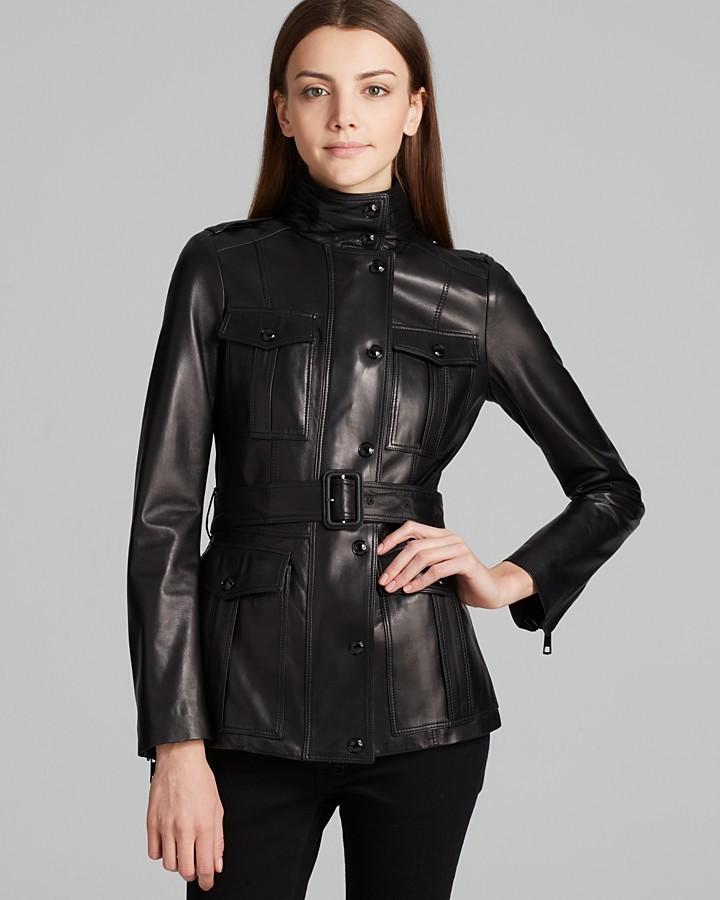 Burberry Jacket - Brookley Leather