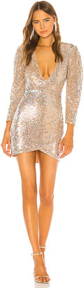 Solange Camila Coelho Embellished Mini Dress