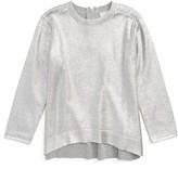Stella McCartney Girl's Jewel Foil Sweater