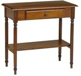 Office Star Kh07 Knob Hill Foyer Entry Table, Antique Cherry