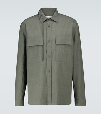 Craig Green Laced cotton shirt