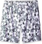 Kanu Surf Men's Big Dominica Extended Size Quick Dry Beach Shorts Swim Trunk
