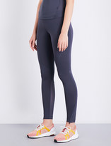 adidas by Stella McCartney Training Climachill stretch-jersey cropped top