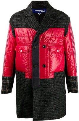 Junya Watanabe Colour-Block Patchwork Coat
