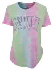 Royce Apparel Inc Women's Kentucky Wildcats Bay Tiedye T-Shirt