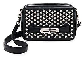 Alexander McQueen Women's Small The Myth Studded Leather Camera Bag