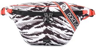 Dolce & Gabbana Neoprene Jungle Sport belt bag