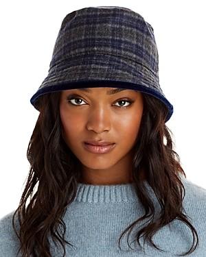 Aqua Plaid Bucket Hat - 100% Exclusive