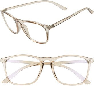 BP 52mm Blue Light Blocking Square Glasses