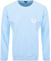 True Religion Crew Neck Sweatshirt Blue