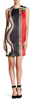 Rachel Roy Chevron Fit & Flare Dress