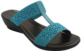 Bos. & Co. Turchese Julie Leather Sandal