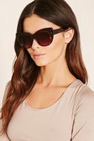 Forever 21 FOREVER 21+ Tortoise Cat Eye Sunglasses