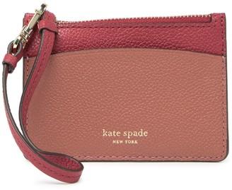Kate Spade Margaux Leather Wristlet Card Holder