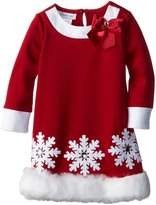 Bonnie Jean Little Girls' Scuba Santa Dress