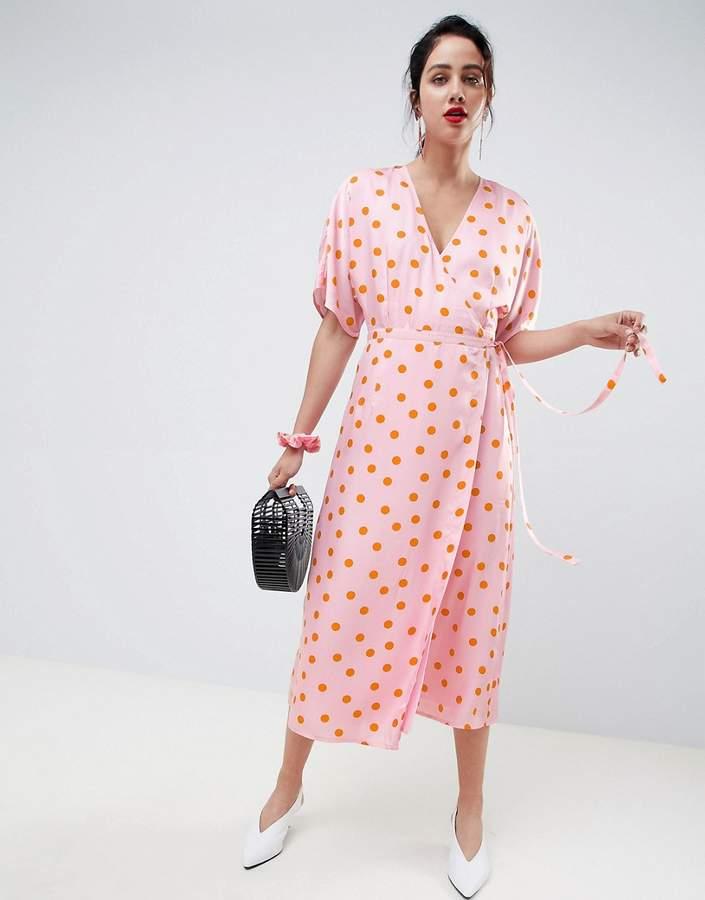 Gestuz Elsie wrap dress