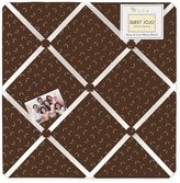 JoJo Designs Night Owl Fabric Memory/Memo Photo Bulletin Board by Sweet