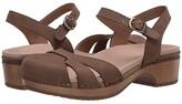 Dansko Betsey (Cinnamon Milled Nubuck) Women's Shoes