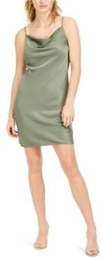 Bar III Cowl-Neck Slip Dress, Created for Macy's